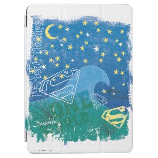 Supergirl en värld iPad air skydd