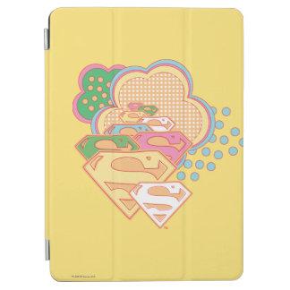 Supergirl färgrik molnlogotyp iPad air skydd