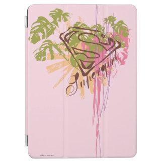 Supergirl färgstänk iPad air skydd