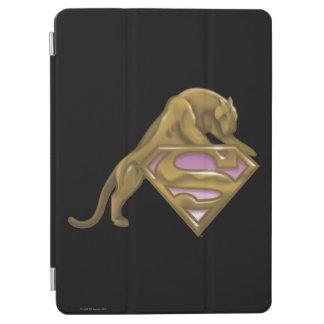 Supergirl guld- katt iPad air skydd