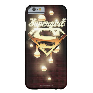 Supergirl gulddroppandear barely there iPhone 6 fodral