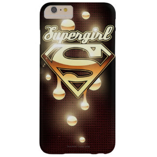 Supergirl gulddroppandear barely there iPhone 6 plus fodral
