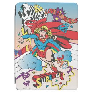 Supergirl kärlek erövrar iPad air skydd