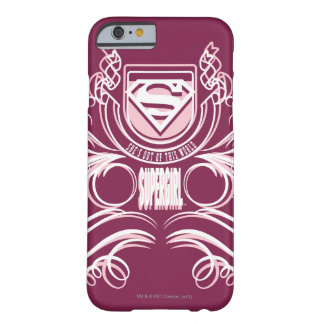 Supergirl krusidulldesign barely there iPhone 6 skal