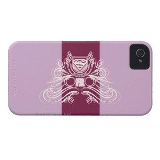 Supergirl krusidulldesign Case-Mate iPhone 4 skydd