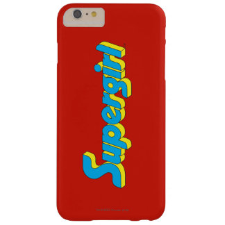 Supergirl logotyp barely there iPhone 6 plus skal