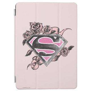 Supergirl logotyp med ro iPad air skydd