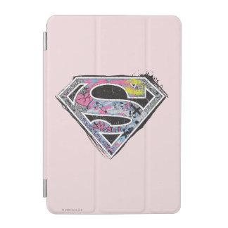 Supergirl logotypCollage iPad Mini Skydd