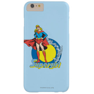 Supergirl med logotypen barely there iPhone 6 plus fodral