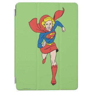 Supergirl poserar 8 iPad air skydd
