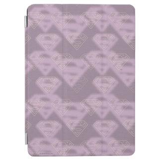 Supergirl purpurfärgad halvtonlogotyp iPad air skydd