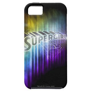 Supergirl regnbåge iPhone 5 cover