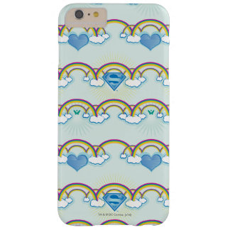 Supergirl regnbågemönster barely there iPhone 6 plus fodral
