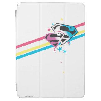 Supergirl regnbågerandar iPad air skydd