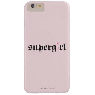 Supergirl säkerhetsnålbrev barely there iPhone 6 plus skal