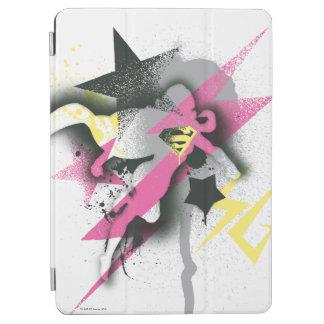 Supergirl sprutmålningsfärg iPad air skydd