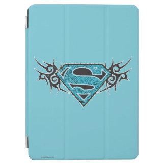 Supergirl stam- mönsterlogotyp iPad air skydd