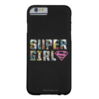 Supergirl tecknadlogotyp barely there iPhone 6 fodral