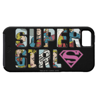Supergirl tecknadlogotyp iPhone 5 skydd