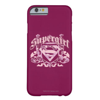 Supergirl vapenskölddesign barely there iPhone 6 fodral