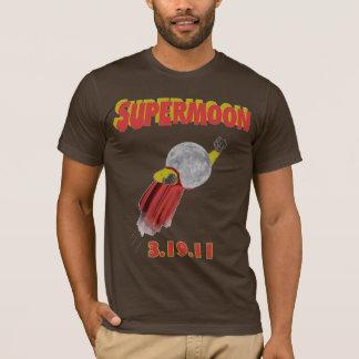 Supermoon - mars 19, 2011 t-shirts