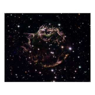 Supernova i Cassiopeia A 20x16 (20x16) Poster