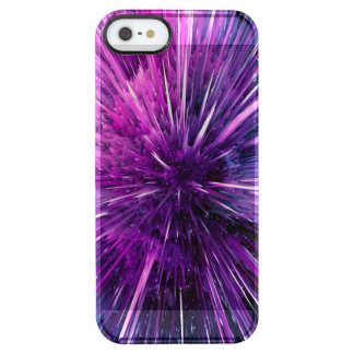 supersonic abstrakt clear iPhone SE/5/5s skal