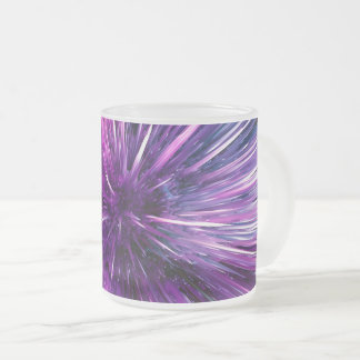 supersonic abstrakt frostad glas mugg