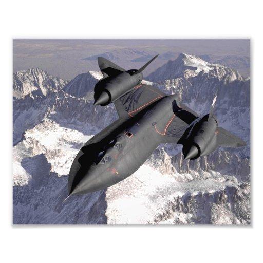 Supersonic kämpejet fotografiskt tryck