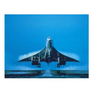 supersonic transport vykort