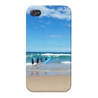 Surfa Australien iPhone 4 Cover