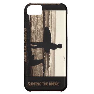 surfa avbrottet iPhone 5C fodral