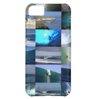 Surfa den vinkara montagen iPhone 5C fodral