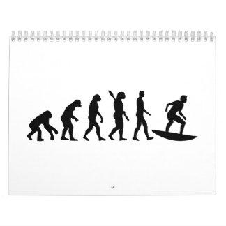 Surfa för evolution kalender