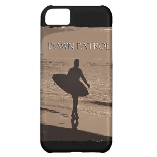 Surfa för gryningpatrull iPhone 5C fodral