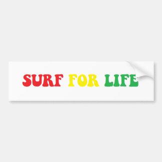 Surfa för livrastaklistermärke bildekal
