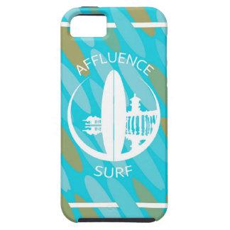 Surfa för turkossurfingbrädarikedom iPhone 5 skydd