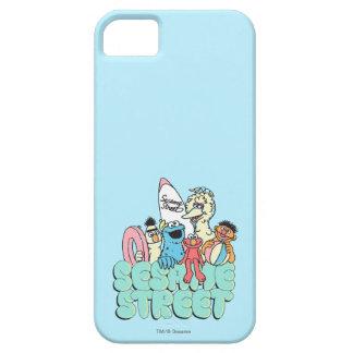 surfa för vintage för 90-talsesamgata iPhone 5 Case-Mate skydd