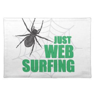 Surfa för webben bordstablett