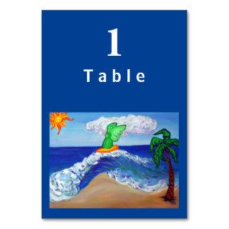 Surfa kort för bord för Raphael-ängel