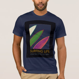 surfa livstil t shirts