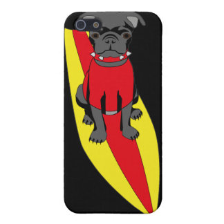 Surfa mopstelefonfodral iPhone 5 fodraler