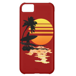 Surfa soluppgång iPhone 5C fodral