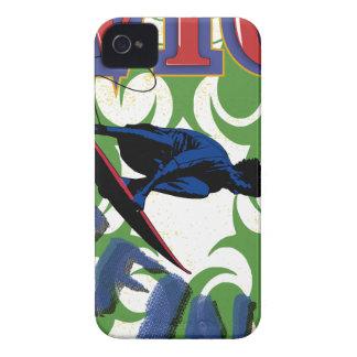 surfa som är stam- iPhone 4 Case-Mate fodral