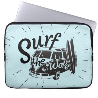 Surfa vinka laptop sleeve