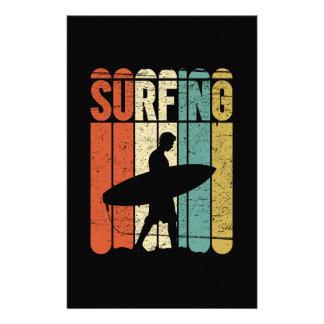 Surfa vintage brevpapper