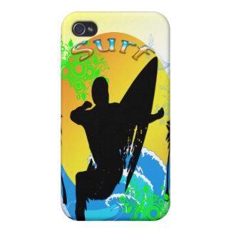 Surfaklubb - surfare 4G eller 4S iPhone 4 Hud