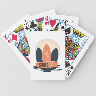 Surfar upp spel kort