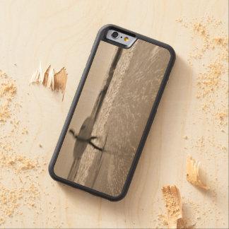 Surfare Carved Lönn iPhone 6 Bumper Skal