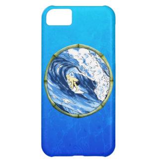Surfare med bamburamen iPhone 5C fodral